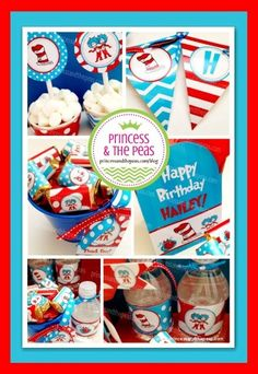 How to throw an easy Dr. Suess Party that looks like a pro planned it! | Affordable Kids Birthday Party Ideas | Personalized Invitations | Easy Kids Parties | Kids Party Planning | Party Printables | Kids Parties On A Budget | Your Specialty Kids Party Blog