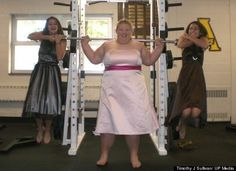 """"""" Holley Mangold, the 323-pound woman in perfect physical shape, is highly favored to compete on the 2012 U.S. Olympic weightlifting team. """" Health is NOT, NOT, NOT equal to size!!!!!!"""