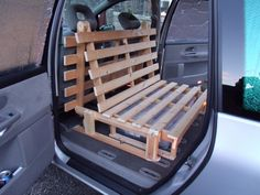 Have you got a car or light van that has been adapted for camping or days out? Not necessarily a full camper van conversion, maybe just a car with fold down seats or a bed to replace the seats.