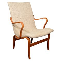 Mid Century Bruno Mathsson Chair w/ Original Upholstery
