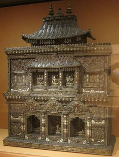 photos of buddhist alters   Description Buddhist altar from Nepal, late Malla-early Shah period ...