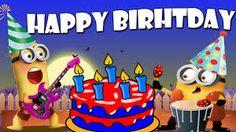 bfe9aeae aa067f5c6de6aca6b33 minion birthday ecards