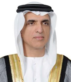 Image of the face of Sheikh Saud bin Saqr Al Qasimi