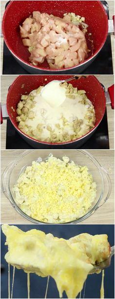 Frango cremoso com batatas, PARA OS AMANTES DE FRANGO !!! #frangocombatatas #frango