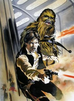 Star Wars - Han Solo and Chewbecca