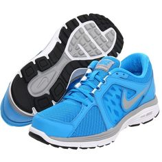 best sneakers e420e cbdd6 Nike dual fusion run blue glow white matte silver metallic silver