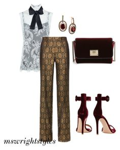 """""""Untitled #203"""" by mswrightstyles on Polyvore featuring LE VIAN, Gianvito Rossi, Philosophy di Lorenzo Serafini and Jimmy Choo"""