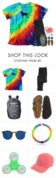 """""""RTD~she's going off about something that you said, she doesn't get your humor like I do~"""" by kaitlynbug1226 ❤ liked on Polyvore featuring The North Face, Birkenstock, Spitfire, Vineyard Vines and Kate Spade"""