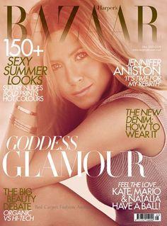 Amei esta capa da Harper`s Bazaar UK de maio com a Jennifer Aniston. A capa ficou linda, a Jennifer nem preciso dizer, né…