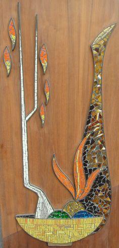 Mid Century Mosaics On Pinterest Mosaics Mid Century