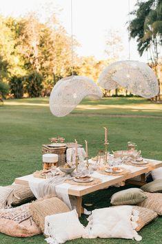 Diy Picnic Table, Backyard Picnic, Picnic Set, Picnic Time, Picnic Ideas, Tipi Wedding, Marquee Wedding, Wedding Shoot, Outdoor Dance Floors