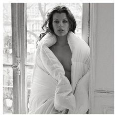 Milla Jovovich | by Mario Sorrenti, Paris, 2009