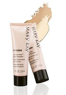 Mary Kay Foundation, blends in so well and looks natural!