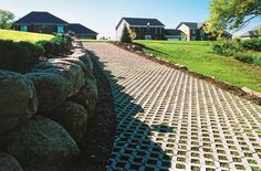 Turfstone Eco is Ideal for Erosion Control and Soil Stabilization.