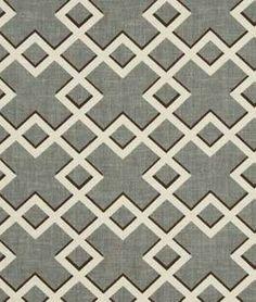 Robert Allen Shadow Trellis Toffee - $65.25 | onlinefabricstore.net
