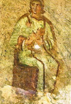Výsledok vyhľadávania obrázkov pre dopyt Fresky v katakombách