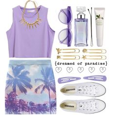 """#692 Purple"" by anavukadinovic on Polyvore"