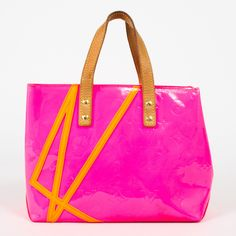 Louis Vuitton Lead Pm Robert Wilson Limited Edition In Vernis Pink - Beyond the Rack $699...I Want This!!
