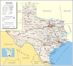 Maps of the Southwestern US for Trip Planning Trip planning and