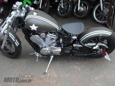 Honda Shadow VT 600C - 1999 Honda Bobber, Honda Shadow Bobber, Honda Cb400, Bobber Bikes, Bobber Chopper, Cafe Racer Motorcycle, Honda Motorcycles, Harley Davidson Motorcycles, Custom Motorcycles