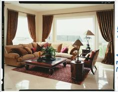 Beautiful shades make a room feel complete.