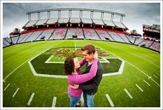 i would die and go to heaven if i could take my engagement pics at williams brice. let's make this happen.