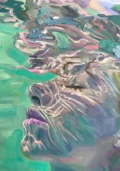 Environmental Dream Detail Oil on canvas x Colorful Drawings, Art Drawings, Oil On Canvas, Canvas Art, Art Alevel, Underwater Painting, Ap Art, Art Portfolio, Aesthetic Art