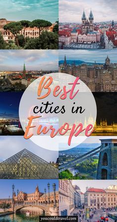 Best European Cities (you won't want to miss) - wondering what are the best European cities? Here is a list of all our favourite which we discovered during a long summer Euro trip by car. We are in love with Europe and we think you won't want to miss these amazing cities full of great food, culture and fantastic things to do. Our list contains information on each individual city, including why go, what to eat and what not to miss. Ready for a European adventure? #guide #european #city…