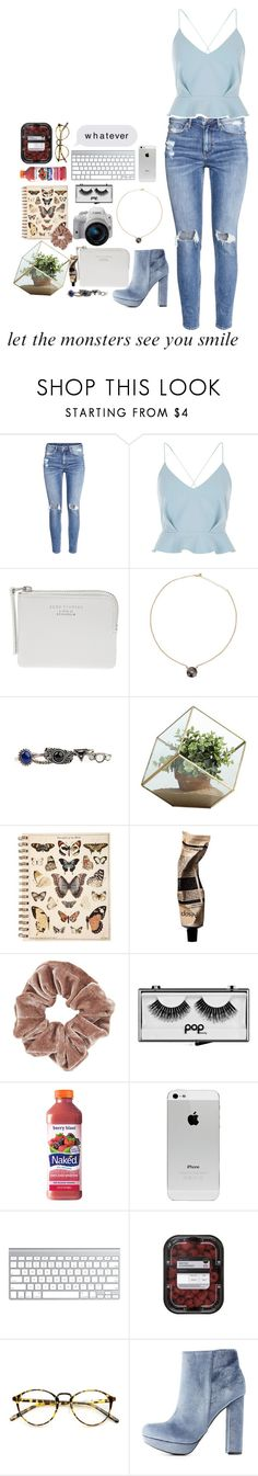 """""""// 409 //"""" by cidinha-001 ❤ liked on Polyvore featuring H&M, River Island, Eos, Acne Studios, Arizona, Danya B, Aromatique, Topshop, Pop Beauty and Charlotte Russe"""