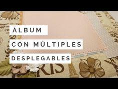 Mini Albums Scrap, Mini Scrapbook Albums, Happy Mail, Scrapbooks, Baby Shower, Videos, Youtube, Crafts, Cartonnage