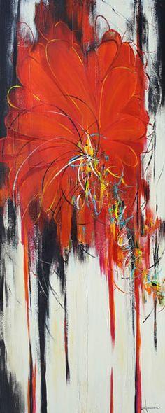 Les oeuvres de ... Luce Lamoureux - Galerie d'art Richelieu Galerie D'art, Acrylic Colors, Les Oeuvres, Abstract, Artwork, Painting, Brogue Shoe, Radiation Exposure, Artist