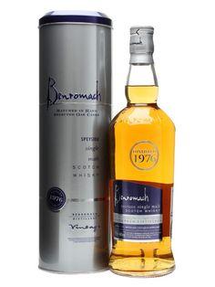 A fantastic vintage from Benromach and owners Gordon & Macphail. Bourbon Whiskey, Scotch Whisky, Fun Drinks, Alcoholic Drinks, Whiskey Bottle, Vodka Bottle, Single Malt Whisky, Distillery, Liquor