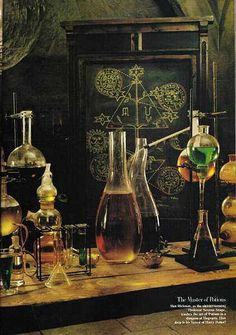 Making potions