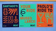 "DesignStudio's new identity for Beat looks to ""break through language barriers"" - Design Week"