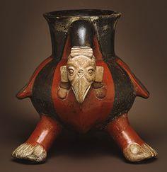 Vulture Vessel [Mexico; Aztec] (1981.297) | Heilbrunn Timeline of Art History | The Metropolitan Museum of Art