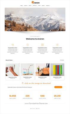 How to Code a Homepage Template with HTML5 and CSS3 : Medialoot ...