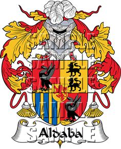 Aldaba Family Crest apparel, Aldaba Coat of Arms gifts