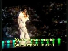 ▶ Elvis Presley - Welcome To My World (with lyrics) - YouTube