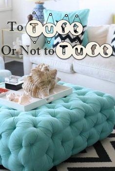 Tufting, Upholstery, #InteriorDesign, #Design Trend