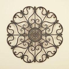 classic and decorative wrought iron wall decor and designs ideas wallsneedlove forthehome decor - Metal Wall Designs