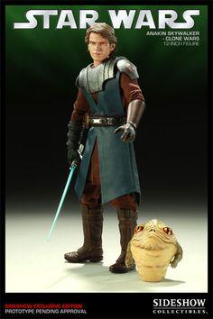 Star Wars NUR Jedi Custom Umhang für Sideshow Luke Premium Format Statue