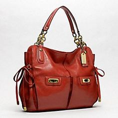 Coach Chelsea Flagship leather tote