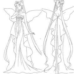 Neo Queen Serenity Dress (anime)