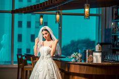 İncili gelinlik modelleri, inci işlemeli gelinlik, incili duvak modelleri, moda, fashion, duvak, inci taç, saç modelleri, saç aksesuarı, gelin aksesuarları, 2017 incili gelinlik modelleri,  kabarık gelinlik, prenses gelinlikler, Dai Wedding, wedding dresses, pearl Wedding dress, pearl accessories