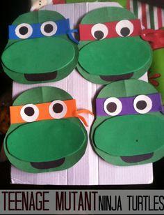 teenage mutant ninja turtle crafts for kids