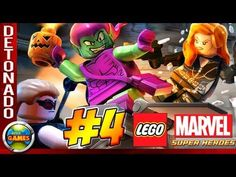 LEGO Marvel Super Heroes Parte #4 Oscorp  Walkthrough