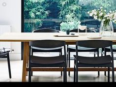 Dining Chairs, Dining Table, Yellow, Green, Furniture, Home Decor, Decoration Home, Room Decor, Dinner Table