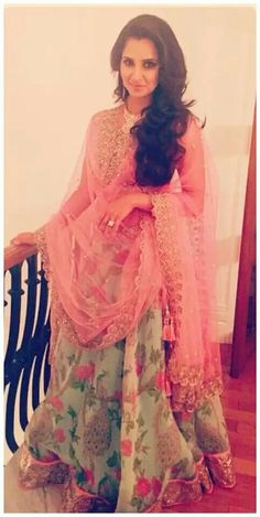 Anushree Reddy. Love!!!  #florals