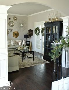 Christmas Formal Living Room 1