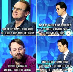 "When you realised that everyone is either a Sean or a David. | 34 Times ""8 Out Of 10 Cats Does Countdown"" Was Almost Too Funny"